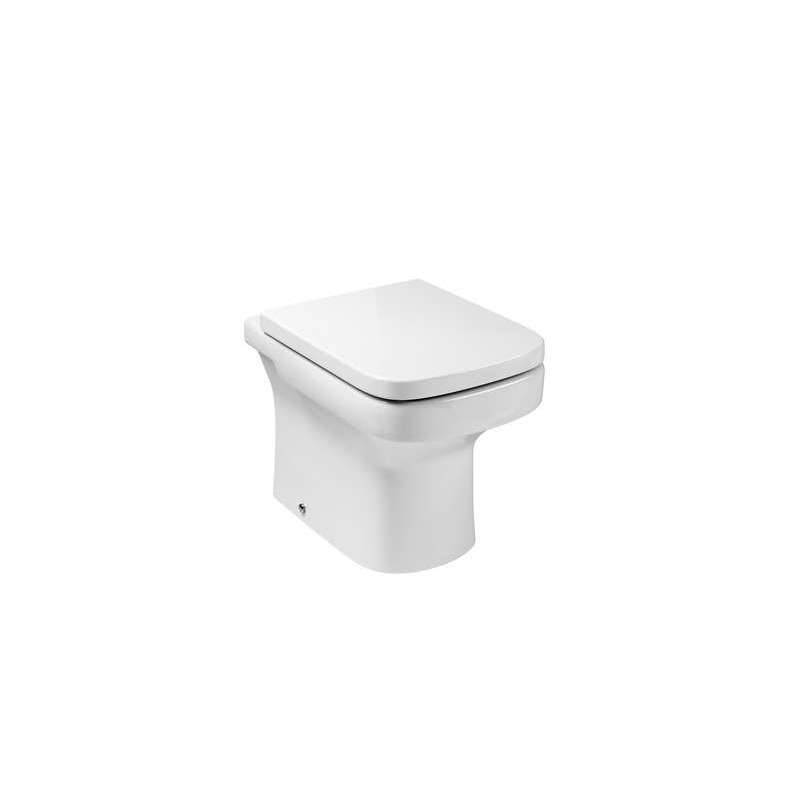 Inodoro roca con salida dual dama de porcelana for Inodoro con salida dual