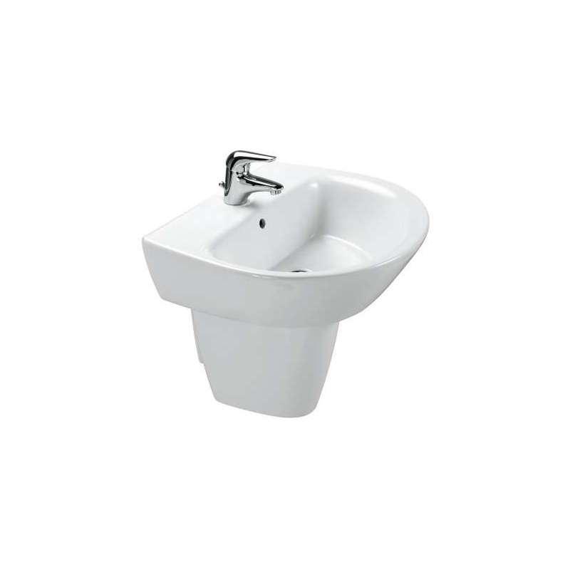 Semipedestal lavabo gala modelo jazz for Saneamientos gala