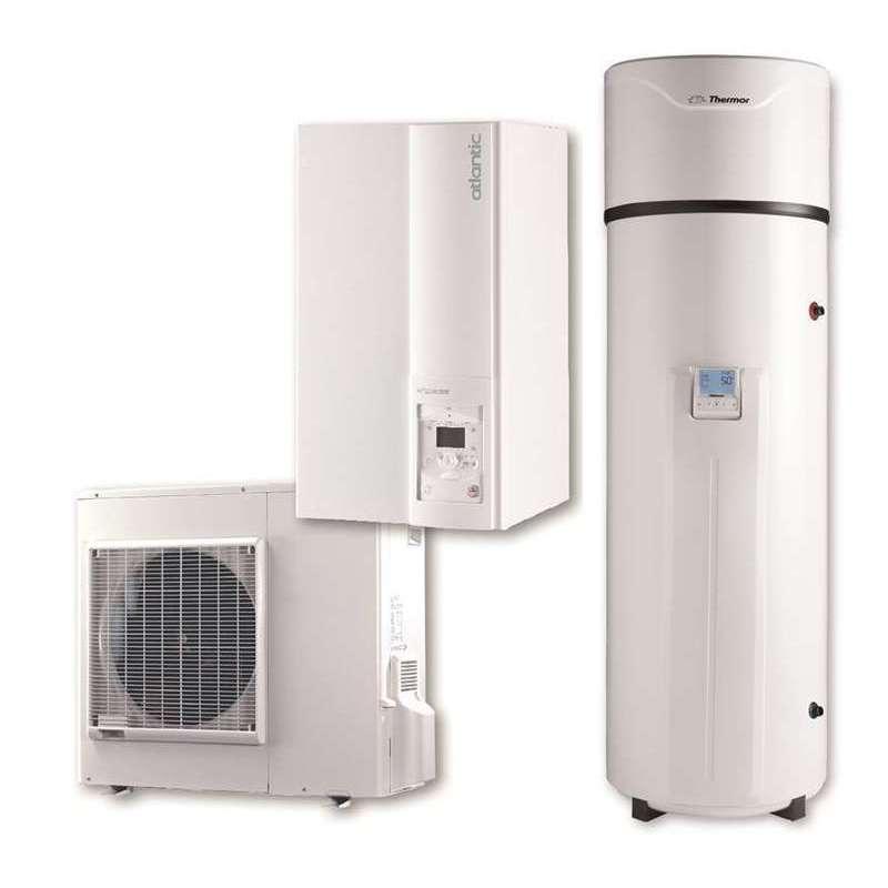 Aeropack premium extensa dos bombas de calor para - Calefaccion bomba de calor precio ...