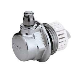 """Purgador-tapón AERCAL automático de 1"""" para radiadores con válvula de purga de aire."""
