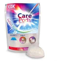 CTX Care Pods, producto 3x1 que previene: Turbidez, algas y generación de espuma.