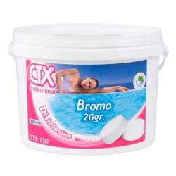 CTX-130 Bromo en tabletas de 20 gramos, disolución lenta.