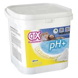 CTX-20 Incrementador de pH granulado. Envase cuadrado de 6 kilos.