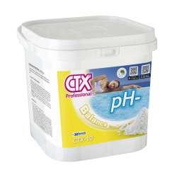 CTX-10 pH- Minorador de pH granulado para ajustar el pH. Envase de 8 kilos.