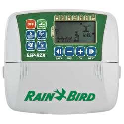 ESP-RZX programadores para interior 230VAC de 4, 6 y 8 estaciones. RXZ4i, RZX6i y RZX8i. Rain Bird.