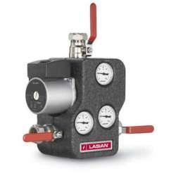 Optimax 21-60 regulador de temperatura para calderas de sólidos o biomasa. Lasian.