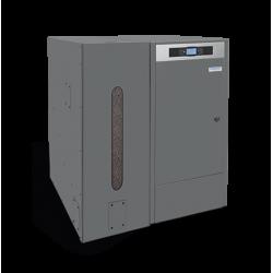 Caldera BioClass HM+DR 43 kW de pellet con depósito de reserva