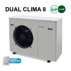 Aerotérmia Dual Clima 8 kW DomusaTeknik