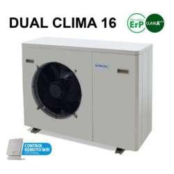 Aerotérmia Dual Clima 16 kW DomusaTeknik