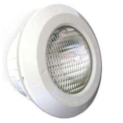 Lámpara halógena de 300 W. con nicho incluido y embellecedor ABS blanco.