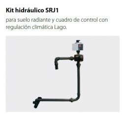 Kit hidráulico de suelo radiante SRJ1 para caldera JAKA (HFD 30 / HFD 40 / HFD 50) de Domusa.